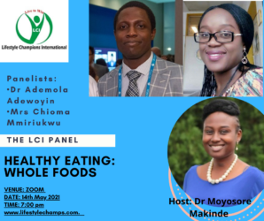 Boost Your Confidence Panel on Healthy Eating: Whole Foods