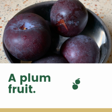 Plums! What are they?