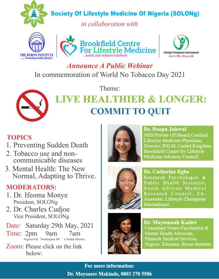 Live Healthier & Longer: Commit To Quit